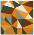 rug #1145015 | square light-orange abstract rug