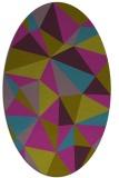 rug #1145104 | oval geometry rug