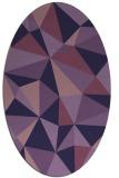 rug #1145119   oval purple rug