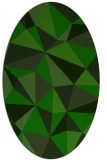 rug #1145227 | oval green abstract rug