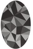 rug #1145246 | oval abstract rug