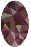rug #1145266   oval abstract rug