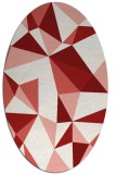 rug #1145288 | oval abstract rug