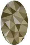 rug #1145363 | oval light-green popular rug