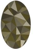 rug #1145371 | oval light-green rug