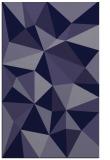 rug #1145475 |  blue-violet abstract rug