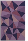 rug #1145487 |  purple graphic rug