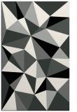 rug #1145535 |  black abstract rug