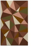rug #1145539 |  mid-brown graphic rug