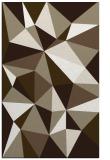 rug #1145551    mid-brown abstract rug