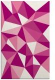 rug #1145615 |  pink geometry rug
