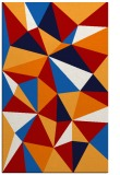 rug #1145647 |  red abstract rug