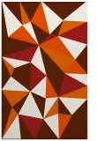 rug #1145675 |  red-orange abstract rug