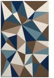 rug #1145699    white abstract rug