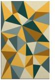 rug #1145719 |  yellow geometry rug