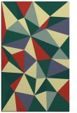 rug #1145723 |  blue-green graphic rug