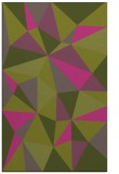 rug #1145735 |  light-green graphic rug