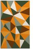 rug #1145751 |  light-orange graphic rug
