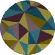 rug #1145837 | round graphic rug