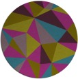 rug #1145840 | round graphic rug