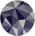 rug #1145849 | round abstract rug