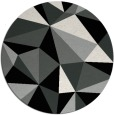 rug #1145906 | round abstract rug