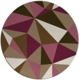 rug #1145915   round beige graphic rug