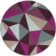 rug #1145924 | round graphic rug