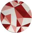 rug #1146026 | round abstract rug