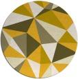 rug #1146076 | round graphic rug