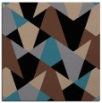 rug #1146511   square black graphic rug