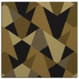 rug #1146515 | square mid-brown rug