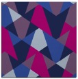 rug #1146531 | square blue graphic rug