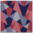 rug #1146587 | square blue-violet retro rug