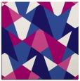 rug #1146595 | square blue-violet retro rug