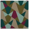rug #1146607 | square brown graphic rug