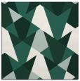 rug #1146627 | square green retro rug