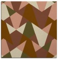 rug #1146643 | square brown graphic rug