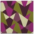 rug #1146739 | square green retro rug