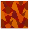 rug #1146755 | square red graphic rug