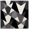 rug #1146783   square black graphic rug