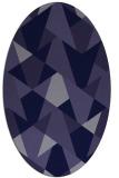 rug #1146947 | oval blue-violet graphic rug