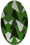 rug #1147003   oval light-green rug