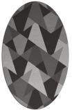 rug #1147083   oval orange retro rug