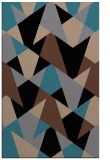 rug #1147247 |  brown graphic rug