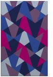 rug #1147267 |  blue graphic rug