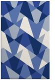 rug #1147279 |  blue graphic rug