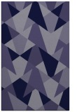 rug #1147319    blue-violet retro rug