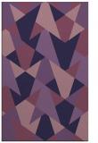 rug #1147327 |  purple graphic rug