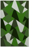 rug #1147371 |  green graphic rug